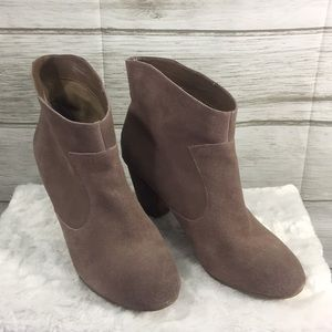 Ecote UA Taupe Leather Booties
